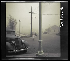 Dust storm (rob.vndnB) Tags: the library congress colorized lee russell photo photogragh photographs portrait picture public old rvndnb archives border looking light nitrate negatives image 1942 united states amarillo texas