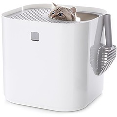 Modkat Litter Box, Top-Entry, Looks Great, Reduces Litter Tracking – White (dogcarseat1) Tags: ifttt wordpress