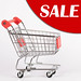Sale text with shopping cart