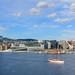 Bjørvika med Barcode, opera og seilbåt