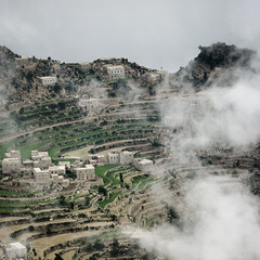 Clouds, Village And Terrace Cultivation, Al Hajjara, Yemen (Eric Lafforgue) Tags: agricultural agriculture agroeconomy alhajara alhajarah alhajjara alhajjarah alhajjerah alhajrah arabia arabiafelix arabianpeninsula beautiful building calm clean cloud cloudy colourpicture day fairyland greenplant hajjazmountains house housing landscape manakha mountain nopeople placeofinterest square terrace terracefarming village yemen img5332 manakhah copyspace