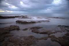 SEA ROCKS AND SHIP (sciatore73!) Tags: sea rocks sky ship landscape leghorn tuscany pentax k1 paesaggio clouds nubi sunset roccia mae mare ocean oceano