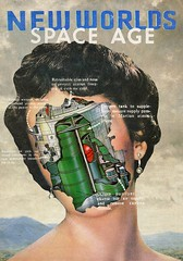 """New Worlds"" (Pulp_Savage) Tags: surrealism surreal sky space scifi artwork art mixedmedia collageartist collagesociety collageartworks collage collageart contemporaryart visual visualart digitalart photoshop pulpart poster posterdesign"