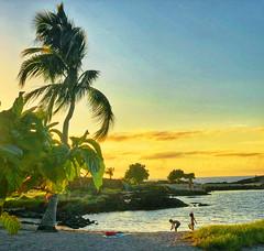 The Kids Are Alright! (ShutterOak) Tags: hawaii kona bigisland people sunset ocean coast