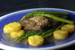 Aged Rib-Eye Steak with Asparagus and Mini Hash Browns (Tony Worrall) Tags: add tag ©2019tonyworrall images photos photograff things uk england food foodie grub eat eaten taste tasty cook cooked iatethis foodporn foodpictures picturesoffood dish dishes menu plate plated made ingrediants nice flavour foodophile x yummy make tasted meal nutritional freshtaste foodstuff cuisine nourishment nutriments provisions ration refreshment store sustenance fare foodstuffs meals snacks bites chow cookery diet eatable fodder ilobsterit instagram forsale sell buy cost stock explore