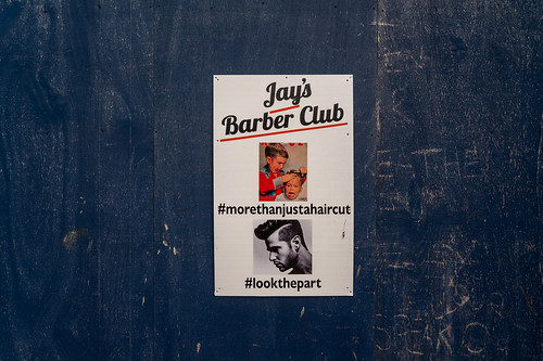 JAY'S BARBER CLUB [PHOTOGRAPHED IN BELFAST]-151540