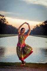 The Sunset Dance (Rohan Valvekar) Tags: rohanvalvekar munich beautiful spring germany colors blue bluesk olympiapark photo photography water sky dusk