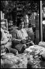In the market - Hua Hin - Thailand (waex99) Tags: 2018 400iso extreme huahin leica m6 summicron ultrafine asia family film holidays thailand woman market stall shopkeeper