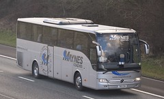 T80GSM  Maynes, Buckie (highlandreiver) Tags: t80gsm t80 gsm maynes coaches buckie mercedes benz tourismo bus coach m6 wreay carlisle cumbria