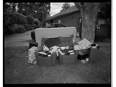 Hard Rubbish ii (@fotodudenz) Tags: fuji fujifilm ga645w ga645wi medium format point and shoot film rangefinder 28mm 45mm 2019 120 mont albert melbourne victoria australia ilford hp5 plus hard rubbish collection