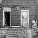 abandoned - facade