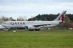 Qatar Airways Cargo Airbus A330-243F, A7-AFZ. (Trevor Mulkerrins) Tags: qatar airways cargo airbus a330243f a7afz 1406