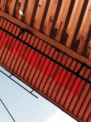 Transverseu (Pimenthe) Tags: minimal minimalism artistic red black lines geometry simple steel architecture urban city photography color abstract abstrait