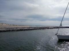 Marker Wadden strand 2 zeilschip Bounty @Oxalex groot