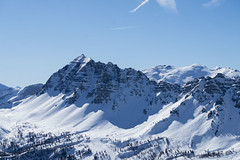 Mountains - Risoul - French Alps (charlespilon) Tags: mountains nature montagnes montagne mountain stones rocks pierres cailloux snow neige sky ciel white blanc blue bleu alps france alpes risoul vars ski landscape paysage