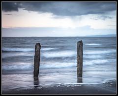 62/365 Newton shore, Ayr (B Ryder) Tags: nikon d500 18200mm long exposure clyde coast ayr scotland waves