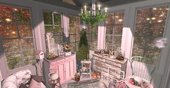 gardenshed (serenityvruth) Tags: granola arcade sl secondlife garden shed home interior decorating design video games disorderly keke silvery k nutmeg hive elm hpmd chic buildings half deer spring