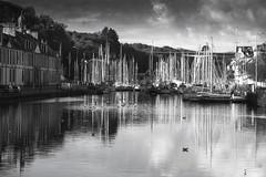 Le port de Morlaix... (De l'autre côté du mirOir...) Tags: leportdemorlaix morlaix finistère 29 bretagne breizh bzh brittany fr france french noiretblanc noirblanc nb blackwhite bw monochrome nikon nikkor d810 nikond810