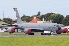 59-1506 KC-135R USAF Prestwick 05.09.17 (Robert Banks 1) Tags: 591506 91506 boeing kc135r k35r kc135 usaf united states air force prestwick egpk pik 185 arw sioux city iowa ang