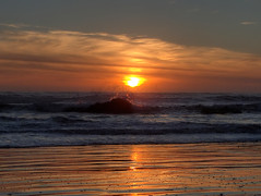 Pacific Sunset (fractalv) Tags: california pacificcoasthighway pacific ocean cayucos beach sunset