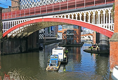 Messing about on the river.. (delticfan) Tags: manchester castlefield northern barge rochdalecanal bridgewatercanal