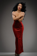 Diana Ross model Kaya (Michael Struts) Tags: diana ross struts flickrsbest red dress kaya mykle