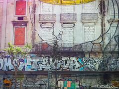 lisbon020 (by claudine) Tags: light16 light l16 capturedbylight architecture graffiti art creative airbrush urban osgemeos thetwins brothers otaviopandolfo gustavopandolfo mural