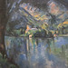 Le lac d'Annecy de P. Cézanne (Fondation Vuitton, Paris)