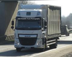 Brett Martin YD67 FFG at Welshpool (Joshhowells27) Tags: lorry truck daf cf dafcf brettmartin yd67ffg curtainsider coventry