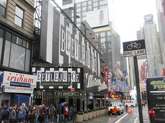 Beetlejuice The Musical Winter Garden Theater Marquee 4371 (Brechtbug) Tags: beetlejuice the musical winter garden theater marquee display 2019 nyc broadway 7th ave 51st street ben cooper halco collegeville monster creature graveyard ghoul dead guy moss hair green stripes fashion mutants villains tim burton film movie 1988 80s 1980s figure hell purgatory beatle beetle juice ghost with most michael keaton possession exorcist betelgeuse exorcism haunt