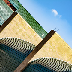 (jfre81) Tags: abstract minimalist modern geometry art light shadow sky blue houston texas tx tex 713 federal reserve building pyramid architecture triangular form lines shape james fremont jfre81 photography canon rebel xs eos 2019