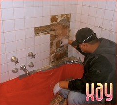 Part Time Handy Myn (chrstphre) Tags: tiles bathroom shower xay spofford spokane washington repair fix