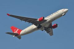'VS33C' (VS0033) LGW-ANU (A380spotter) Tags: takeoff departure climb climbout gearinmotion gim retraction belly airbus a330 300x gvlnm strawberryfields dabxb hbiqq daimd oosft virginatlanticairways vir vs vs33c vs0033 lgwanu runway08r 08r london gatwick egkk lgw