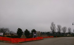 View from the edge of the next-door CVS parking lot (l_dawg2000) Tags: 2019 breakfast chicken chickfila cows desotocounty drivethru fastfood goodmangetwell mississippi ms newconstruction restaurant silosquare snowdengrove southaven