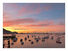 sunset (ibarenogaray) Tags: areeta getxo muelle mar barco atardecer
