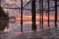 Blackpool sunset (Jason Connolly) Tags: blackpool blackpoollandscapes blackpoolbeach blackpoolsunset northwestengland northernengland northpier northpierblackpool