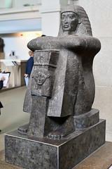 Statue of Roy (c 1220–1200 BC) (Bri_J) Tags: britishmuseum london uk museum historymuseum nikon d7500 statue roy 19thdynasty ancientegypt thebes karnak templeofmut