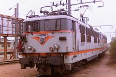 SNCF BB-16622 (bobbyblack51) Tags: sncf class bb16500 alsthom bb electric locomotive 16622 rouen sottville depot 1997