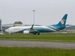 Oman Air                                   Boeing 737                                  A40-BK (Flame1958) Tags: oman omanair omanb737 a40bk boeing737 boeing b737 737 snn shannon shannonairport 220515 0515 2015 1535