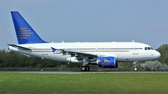 M-HHHH (AnDyMHoLdEn) Tags: a318 egcc airport manchester manchesterairport 05r