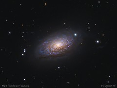 M63 (Roberto_Mosca) Tags: m63 sunflower galaxy deep sky astronomy astronomia galassia qhy367c william optics flt132