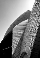 Sydney Opera House (ane_k) Tags: bw sydney opera house texture architecture utzon iphone outside design blackandwhite monochrome phoneinyourhand wall