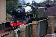 Flying Scotsman 6th October 2018 #4 (JDurston2009) Tags: royalalbertbridge saltash train steamtrain flyingscotsman 60103