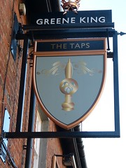 Pub Sign - The Taps, Lytham 181112 (maljoe) Tags: pubsigns pubsign publichouse pub pubs inn inns tavern taverns lytham