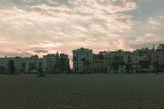 Platja de la Barceloneta (GhostsGraphy) Tags: palm trees venice beach barcelona venicebeach sky skyscape landscape nature light model portrait happy travel travelling traveling canon canon750d barceloneta