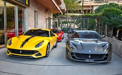 Left or right ? (cs.spotter123) Tags: ferrari ferrarif12 ferrarif12berlinetta ferrari812superfast grey yellow great amazing fast speed automobile automotive whips madwhips motorsport sportcars car cars carspotting carphotography carpics dreamcars carphotographer coolcars hypercars supercarsnation supercarsphotography supercar supercars monaco nikon nikond3400