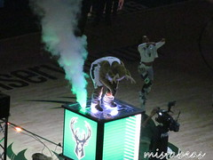 Smoke Behind Bango (mistabeas2012) Tags: milwaukee bucks nba