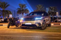 Range Rover Velar and Kawasaki Ninja H2 (RaziPhotography1) Tags: range rover velar kawasaki ninja h2 luxury suv super bike raziphotography1 razimughal192 canon 5dmkii sharjah dubai dubaiphotographer dxb uae uaephotographer