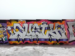 Hiedanranta (Thomas_Chrome) Tags: graffiti streetart street art spray can wall walls fame gallery hiedanranta tampere suomi finland europe nordic legal winter chrome