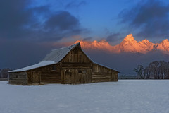 T. A. Moulton Barn (Star Wizard) Tags: moose wyoming unitedstates us